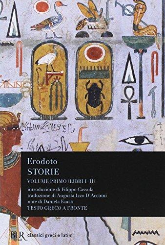 Storie. Testo greco a fronte: 1 di Erodoto