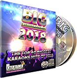 Mr Entertainer Big Karaoke Hits de 2018 - Paquete Doble CDG. 40 mejores canciones