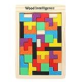 #9: Tootpado WNTB081 Wooden Tetris Jigsaw Puzzle 40 Pcs