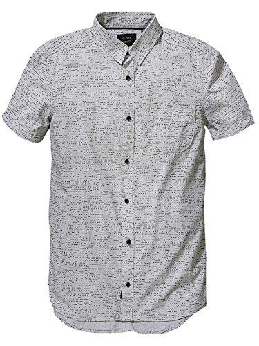 Herren Hemd kurz Globe Mayston Hemd Grey