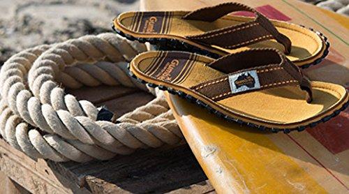 Gumbies Islander Sandale Black