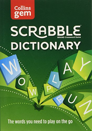 Collins Scrabble Dictionary Gem Edition: The words to play on the go - Collins Dictionaries
