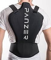 Panzer Sports BackShieldOne - Protector de espalda para motos, esquí y snowboard, muy ligero, se adapta al calor corporal