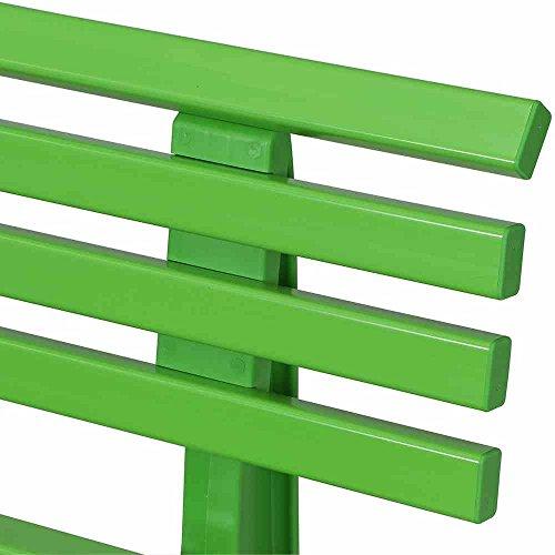BLOME-TIL. Ibiza Bank, Kunststoff, apfelgrün, 54 x 120 x 74 cm, 50927 - 3