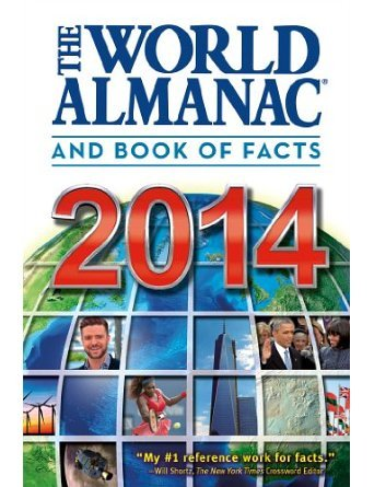 The World Almanac and Book of Facts 2014 (Hardback) - Common