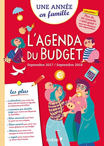 Agenda Du Budget Septembre 2017/2018 Une anne en famille