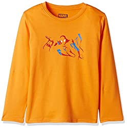 Marvel Spider-man Boys Sweatshirt (BD16-227AKTSWFS_ORANGE_4/5)