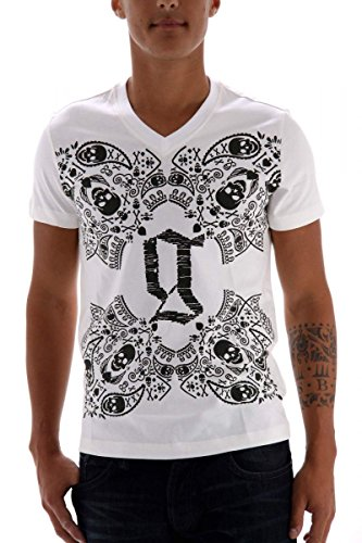 john-galliano-t-shirt-homme-taille-xs-blanc
