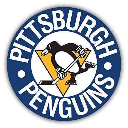 Pittsburgh Penguins NHL Hockey Hochwertigen Auto-Autoaufkleber 12 x 12 cm