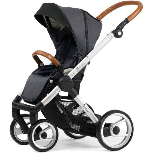 Mutsy EVO Kinderwagen Urban nomad Gestell inkl.Sitz silver/dark grey