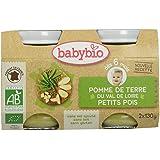 Babybio Pots Pomme de Terre Petits Pois 260 g -