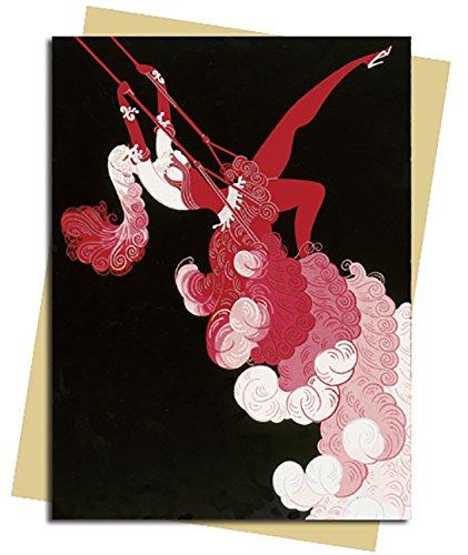 Trapeze (Erté) Greeting Card