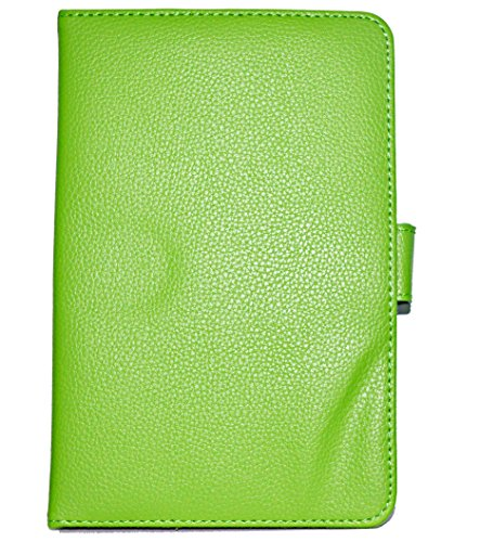 ECellStreet 7 Inch Flip Cover Diary Folio Case With Stand For Bsnl Penta WS707C EDGE CALLING TABLET  - Green  available at amazon for Rs.272