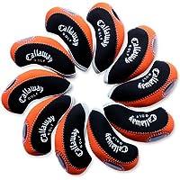 Callaway funda de palo de golf hierro 10pcs/set MT/C08 negro/naranja