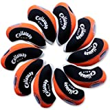 Callaway Golf Iron Head Covers 10pcs/set Black & Orange MT/C08