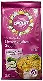 Davert Thailändische Linsen-Kokos-Suppe, 6er Pack (6 x 170 g) - Bio