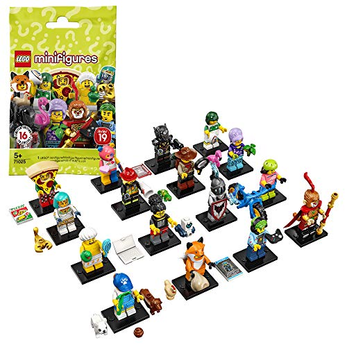 LEGO 71025 Minifiguren Serie 19, Bauset, Mehrfarbig