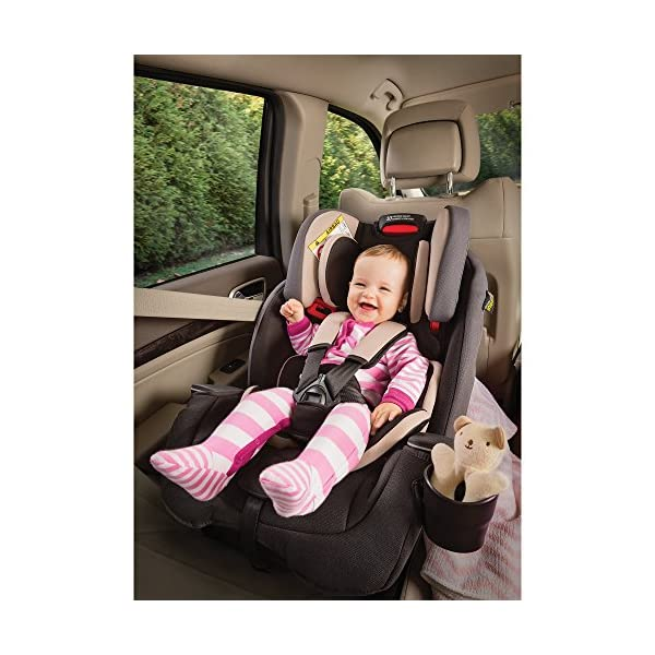 Graco Milestone All-in-One Car Seat, Group 0+/1/2/3, Aluminium Graco Group 0+/1/2/3 can be used for kids from birth up to 12 years of age Easily converts to and from the three riding modes The headrest can be adjusted easily with one hand to grow with your child 5