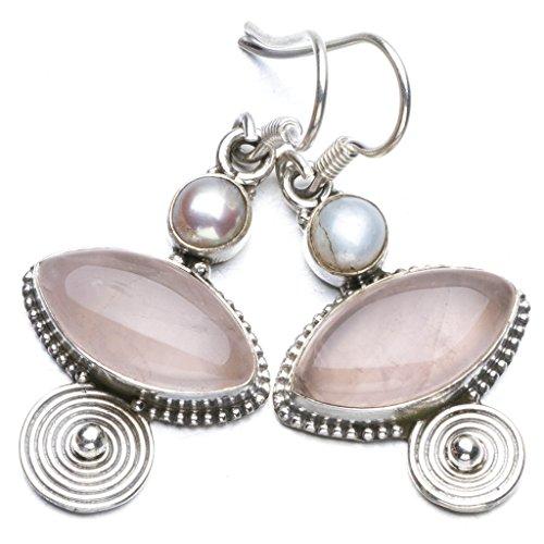 stargems-tm-naturel-quartz-rose-et-riviere-pearl-boho-style-argent-sterling-925-boucles-doreilles-1-