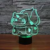 3d lumière de nuit pour Pokémon ...