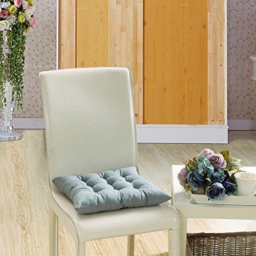 1er Set Stuhlkissen 40x40 cm - Bequemes 8cm Kissen für Stuhl & Bank - Gepolstertes Sitzkissen Stuhl für Ihre Esszimmer Stühle und Bänke - Sitzpolster Yonlanclot (Outdoor-hochstuhl Kissen)