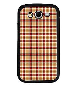 Fuson Premium 2D Back Case Cover Buffalo checks pattern With Multi Background Degined For Samsung Galaxy Grand Neo Plus::Samsung Galaxy Grand Neo Plus i9060i