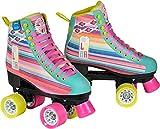 Disney Soy Luna LTD Edition Rollschuhe Rollerskates Kinder Rosa Pink Kids Mädchen Skates Inline Rollerblade (39)