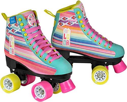 Disney Soy Luna LTD Edition Rollschuhe Rollerskates Kinder Rosa Pink Kids Mädchen Skates Inline Rollerblade (36)