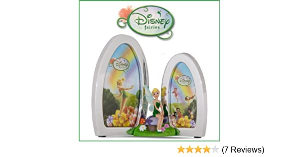 Disney Fairies Silver Plated Double Photo Frame
