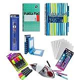 Pukka Pack Student Funtastic Back To School University Education Essentials - BLUE