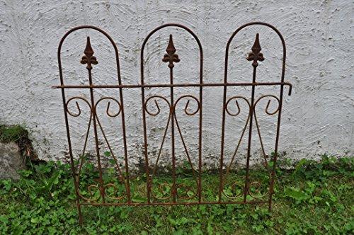 Jardin tuteur fer Deco jardin fer rouille