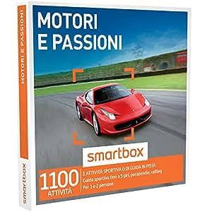SMARTBOX - Cofanetto Regalo -MOTORI E PASSIONI 1 attività sportiva o di guida in pista fino a 5 giri