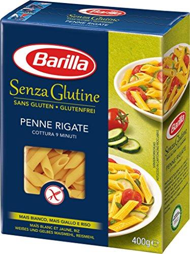 Barilla Pasta Nudeln Penne Rigate Glutenfrei, 14er Pack (14 x 400 g)
