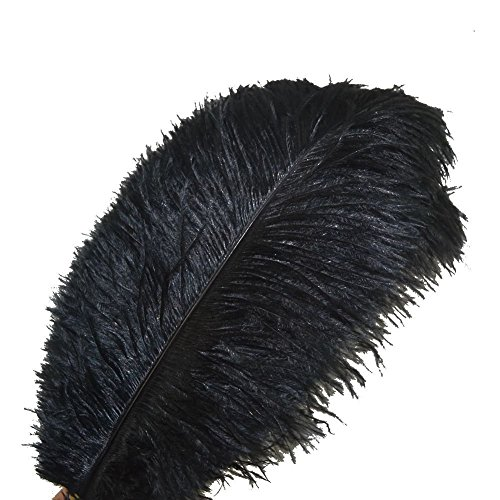 Creny 10pcs ostrich feathers 12-14inch(30-35cm) for Home Wedding Decoration Offers 10 colors