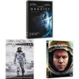 Pack Espacio (Marte + Interstellar + Gravity) [DVD]
