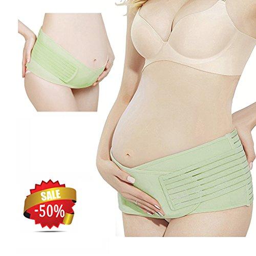 Teleost - Ceinture de grossesse spécial grossesse - Femme vert pâle