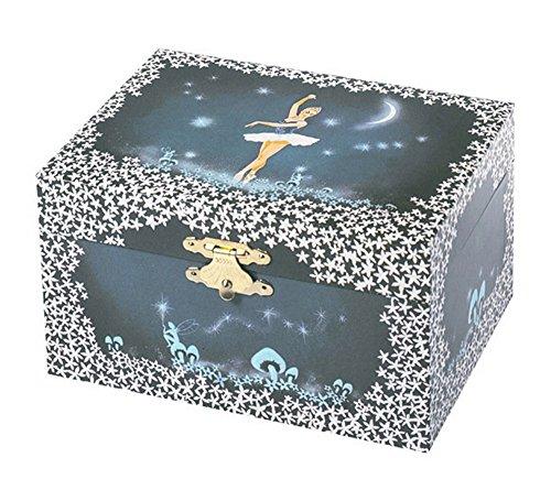 Trousselier - Ballerine - Coffret Musical Danseuse Etoile - Bleu Nuit 0792463613544