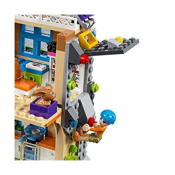 LEGO Friends LaVillettadiMia, 3Mini-doll, Figure del Coniglio e del Cavallo,Casa delle Bambole da Costruire, Giocattoli per Bambini, 41369 5 spesavip