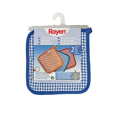 ^ Rayen 6105.50 Set Presine, Tessuto Anti-Calore, Blu, 2 Pezzi confronta il prezzo online