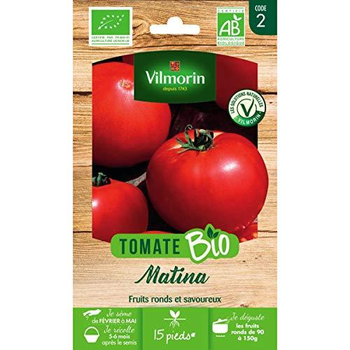 Vilmorin Sachet graines Tomate Matina Bio