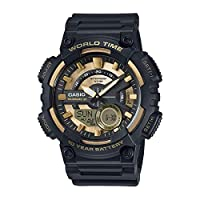 Casio Sport Watch Analog-Digital Display for Men AEQ-110BW-9AV