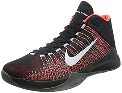 Bright Zoom Nike Basketball Uk Blackwhite Shoes 9 Ascention 0qqdf