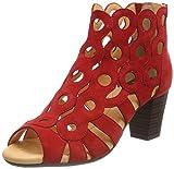 GERRY WEBER Shoes Damen Lotta 16 Stiefeletten, (Rot), 38 EU