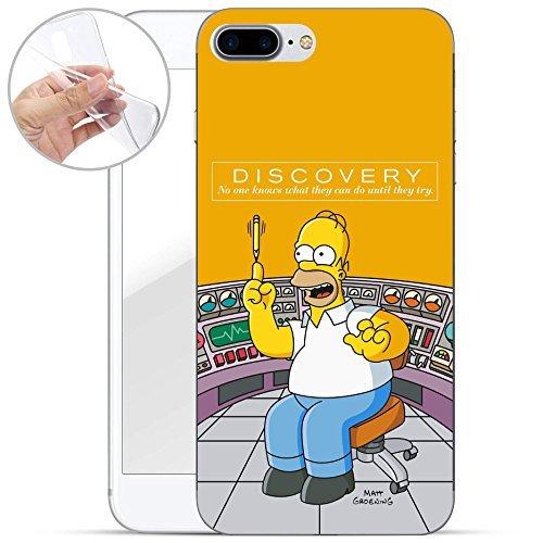 iPhone 7 Plus / 8 Plus TPU Handyhülle von finoo Made In Germany Hülle mit Motiv für Optimalen Schutz Silikon Tasche Case Cover Schutzhülle für Dein iPhone 7 Plus / 8 Plus - Discovery Discovery-handy