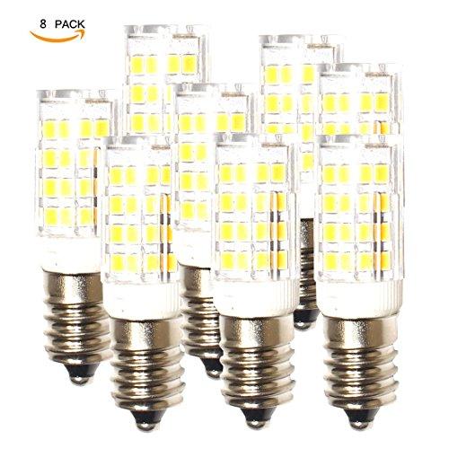 lampaous E14LED Leuchtmittel Entspricht 40W, 5W 400LM Kleine Edison-Schraube Tag weiß Dunstabzugshaube LED Leuchtmittel, 360° Abstrahlwinkel, nicht dimmbar, energiesparend SES Leuchtmittel, 8Stück