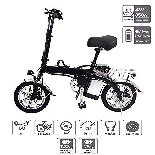 Bicicleta Eléctrica Bicicleta Eléctrica De 14