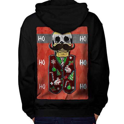 Skull Skeleton Christmas Men S Kapuzenpullover Zurück | (Parade Christmas Ideen Kostüme)