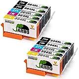 JARBO Remplacer pour HP 364 XL Cartouche d'encre 4 Couleur 2Set+2Noir Grande capacité Compatible avec HP Photosmart 5510 5511 5512 5514 5515 5520 5522 5524 6510 6520 6512 6515 7510 7520 7515 B8550 B8558 C5370 C5373 C5324 C6388 D5460 D5463 B110a B110c B010a B010b B111a B109a B109b C309a C309c B209a B210a HP Deskjet 3070A (4 Noir,2 Cyan,2 Magenta,2 Jaune)
