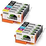 JARBO Remplacer pour HP 364 XL Cartouche d'encre 2Set+2Noir Compatible avec HP...