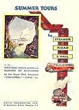 Vintage Travel Scotland mit Macbraynes Fähren für Sommer